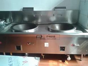 双眼大锅灶 上海乔博厨房设备工程有限公司